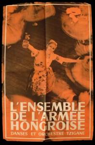 Honvéd Együttes franciao-plakát