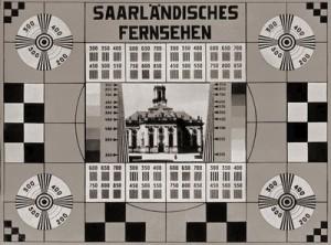 Saarlandischen Fernsehen Testbild