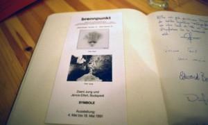 1991.05.04-Brennpunkt-Galerie-vendégkönyv