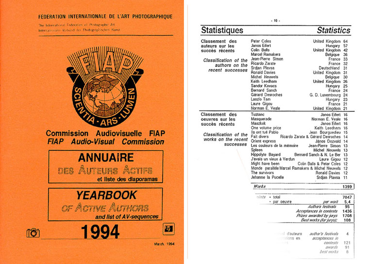 FIAP Yearbook 1994