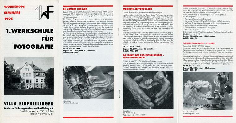 1995-Soltau-Werkschule-program