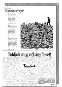 Múzsa 454. szám, Marosvásárhely, Románia, 2000. augusztus 12.