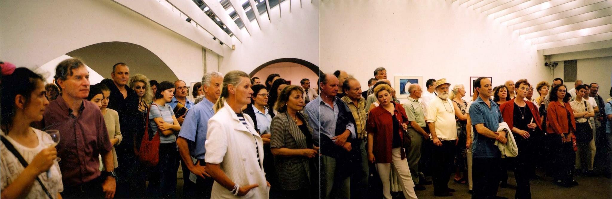 2002.05.24. Tojástörténetek kiállításmegnyitó a Vigadóban