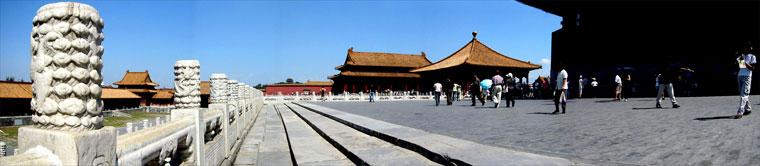 2002.09. Beijing, China, Tiltott város