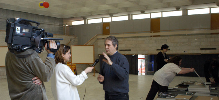 Győri VTV, interjú Eifert Jánossal (Győr, 2003.02.27.)