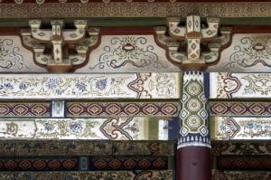 Eifert János: Festett gerendák (Kína, Henan tartomány 2002)
