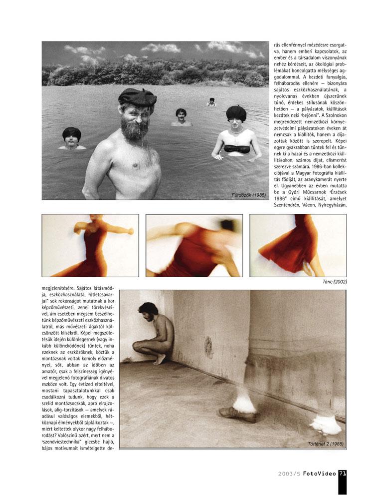 FotoVideo 2003/5 - Eifert János írása Nagy Péterről-03