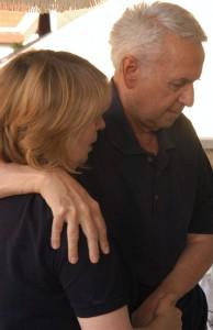 Dr. Hefelle József felesége támogartásával (Photo: Eifert János)
