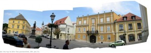 Eifert János: Győr, Bécsi kapu tér (2003) panorámakép