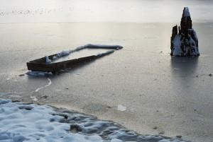 Eifert János: Holt-Tisza télen (Mártély, 1995)