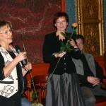 Bayer Ilona szerkesztő-riporter és a film vágója