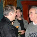 Csák-Miklós-gratulál, Első könyvem - Eifert János portréfilm szakmai bemutatója, sajtótájékoztatója az Uránia Nemzeti Filmszínházban (Budapest, 2003. december 15.)