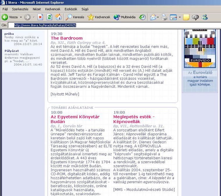 Litera.hu, 2004.09.25.