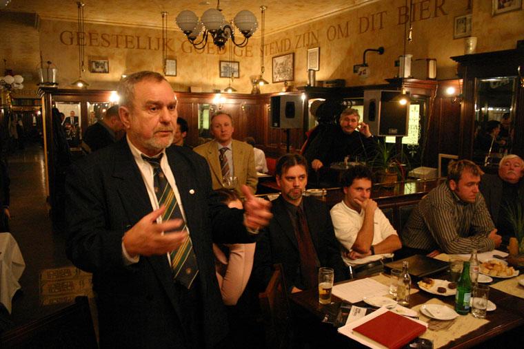 Horváth Sándor terveinkről beszél, Győri MédiKlub, 2005.02.03.