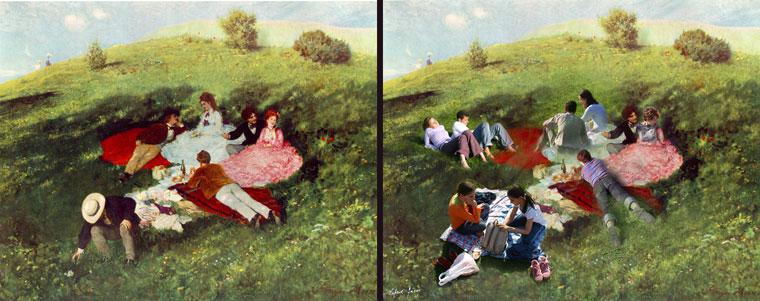 Eifert János: Művészetek utcája, Majális (digiráma)