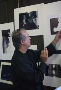Eifert János megnyitja a Tánc-Test kiállítást, MMS Mozdulatművészeti Stúdió, 2005.06.03.