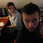 tervezőszerkesztők a FotoVideo szerkesztőségében (Photo: Eifert János)