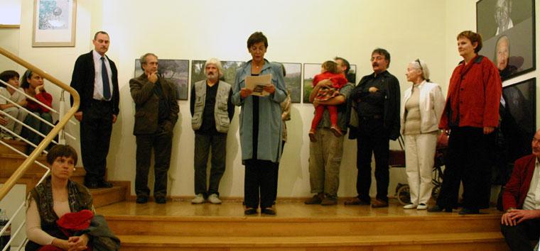 Számítóképek 7., kiállításmegnyitó - Vizivárosi-Galéria, Budapest, 2005. 2005. október 28.
