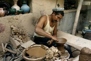 Handcraft, potter, Photo: Eifert