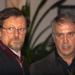 Dozvald János és Eifert János (Grobe Rudolf felvétele)