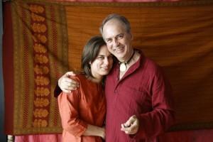 Papa Sárával / Sara with her father (2008.04.19.)