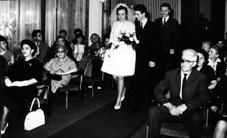 Eifert János és Illés Mária esküvõje (1966)