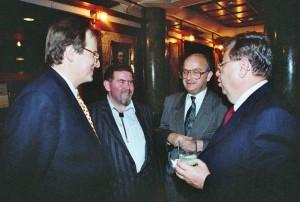 Palotás János, Dr. Szirmai Péter, Budapest, IOE kongresszus, Parti a Grand Hotelben