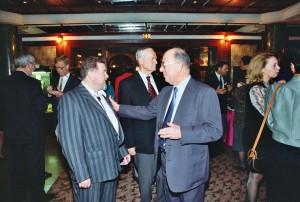 Dr. Szirmai Péter, Budapest, IOE kongresszus, Parti a Grand Hotelben
