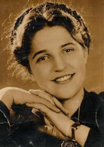 Eifert János édesanyja: Bódi Lenke (1940 körül)