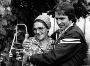 Anyámmal, Hódmezõvásárhely, 1983. tavaszán - photo-jung-zseni