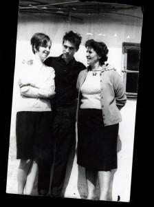 Anyámmal, Marival, az elsö feleségemmel