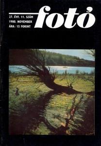 Fotó, 1980. november, címlapon Eifert: Mártély, Holt-Tisza
