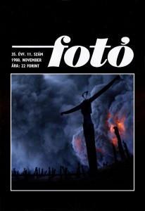 Fotó, 35. évf. 11.szám, 1988. november, címlapon Eifert: Mágia