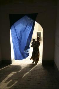 Eifert János: Ujgúr házban / Uygur House (Kashgar, Xinjiang, China, 2006)
