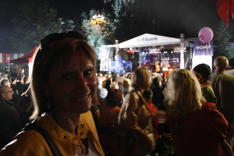 Bulgaria, Banszkoi Jazzfesztivál, Móger Ildikó - Photo: Eifert János
