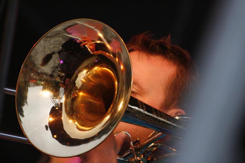 a Four Bones Jazz Combo vezető zenésze - Photo: Eifert János