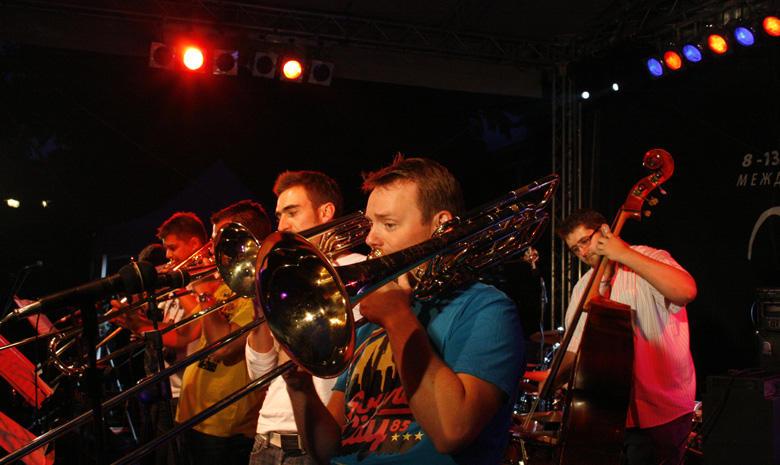Four Bones Jazz Combo fellépése a Bánszkói Jazzfesztiválon - Photo: Eifert János