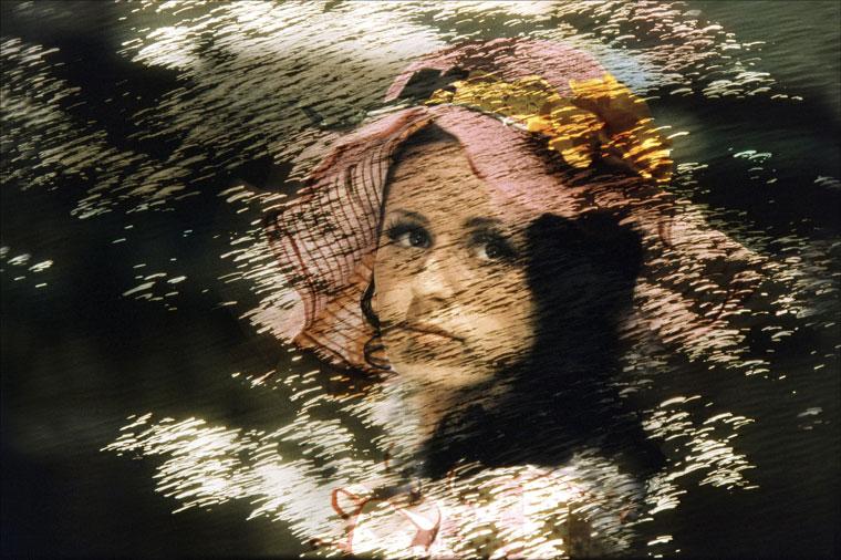Eifert János: Nő kalappal (1972 k)