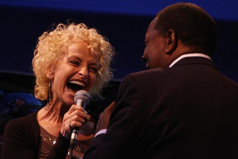 Camelia Todorova, Jamie Davis, Bansko Jazzfestival - Photo: Eifert János