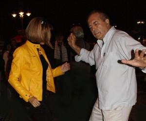 Ildi és János táncol, Bansko Jazzfestival, Bulgaria
