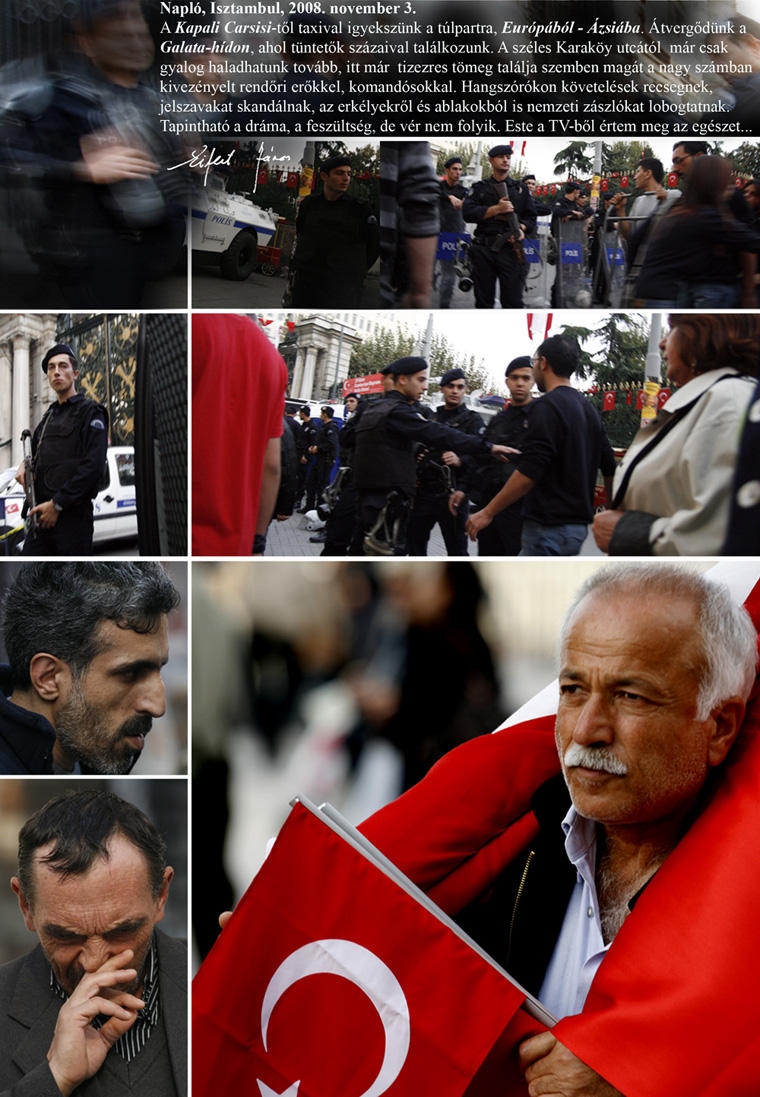 Napló, Isztambul, 2008. november 3.