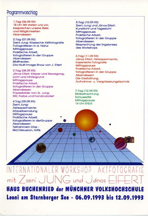 Münchner Volkshochschule-Aktworkshop-1993