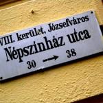 Népszínház-u30-Utcatábla