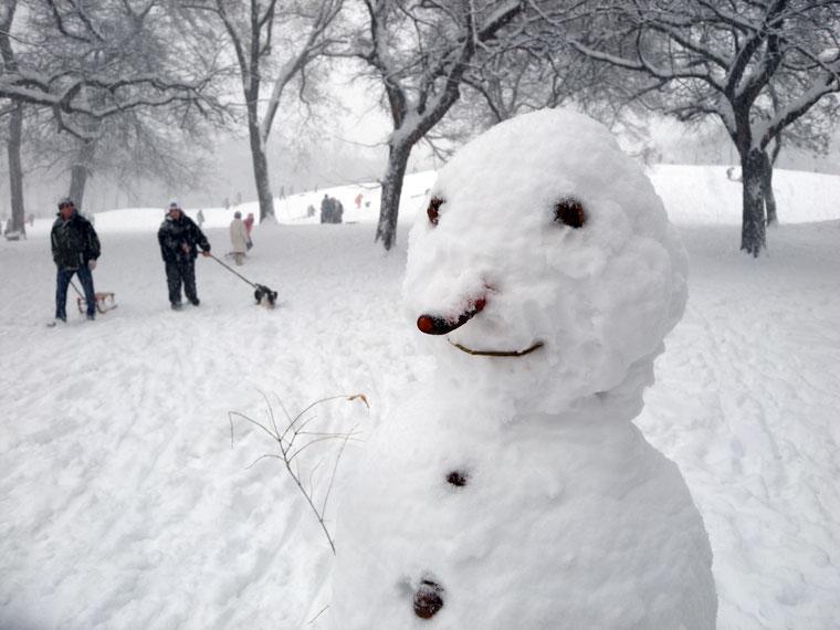 Városliget-Hóember