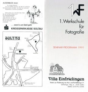 1991-Soltau-Werkschule-program
