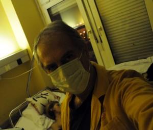 Ildikó-Betegszobában