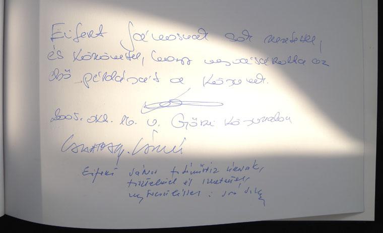 Szabó Béla-Győr-ajánlás