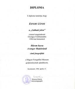 Fotográfiai-Múzeum-Diploma-1996.04.15