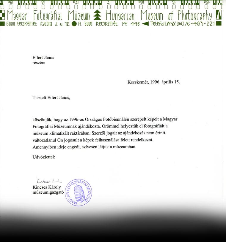 Fotográfiai-Múzeum-levél-1996.04.15