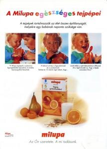Milupa-termékek-kat-B1-1994